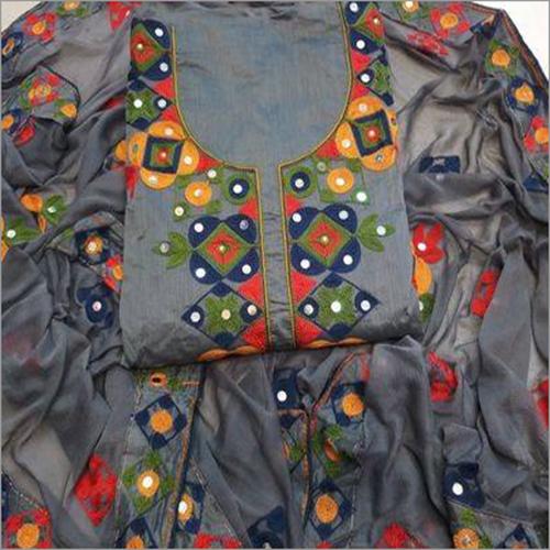Designer Suit ( Unstitched Ladies Suit )