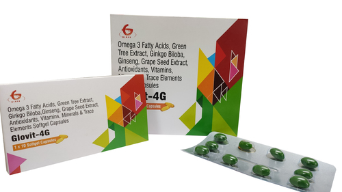 Glovit-4G Softgel Capsules