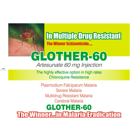 Glother-60 Artesunate Injection