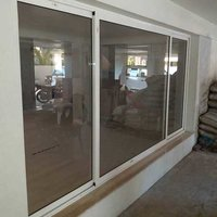 Section Aluminum Window