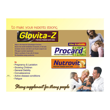 Glovita Z Protein Powder with DHA