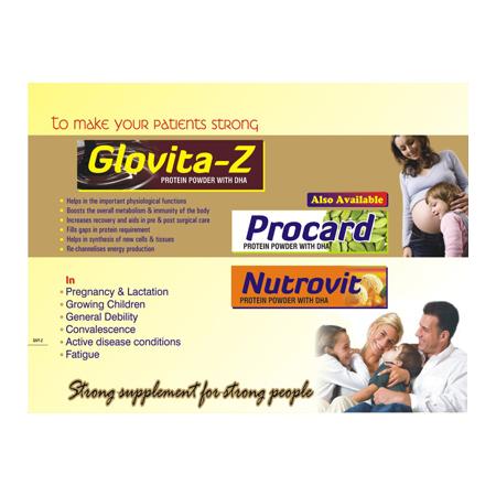 Glovita Z Protein Powder with DHA