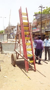 Cart Mounting FRP Ladders