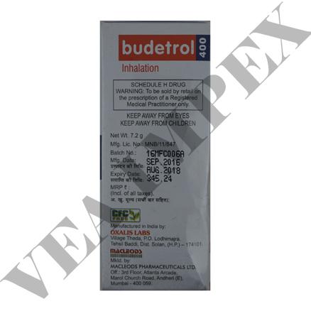 Budetrol 400 mg