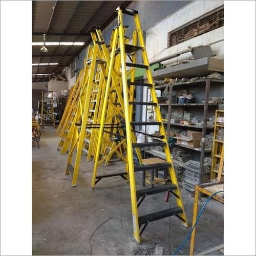 FRP Industrial Platform Ladder