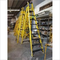 FRP Industrial Platform Ladder