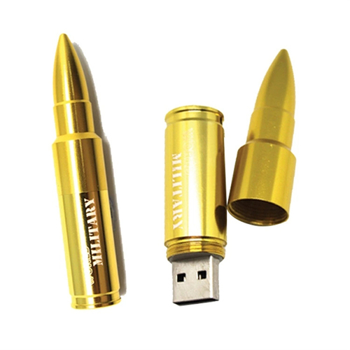 Custom Design Bullet Shape Pen drive