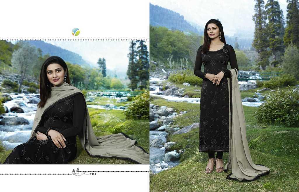 Designer Georgette Silk Suits