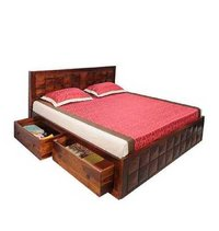 Wooden Bed 3