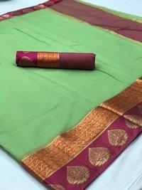 Designer Cotton Silk Sarees