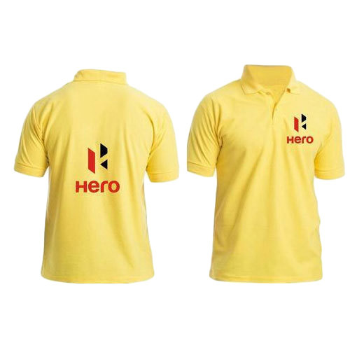Yellow T-Shirt Printing Service