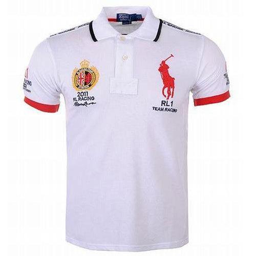White Polo T-Shirt Printing Service