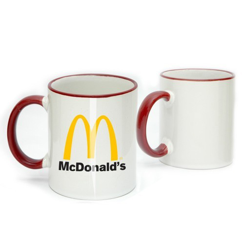 Promotional Ceramic Printed Mug