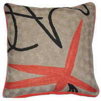 Chain Stitch Cushion Cover