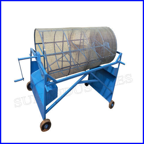 Rotary Type Sand Screening Machine (Manual)