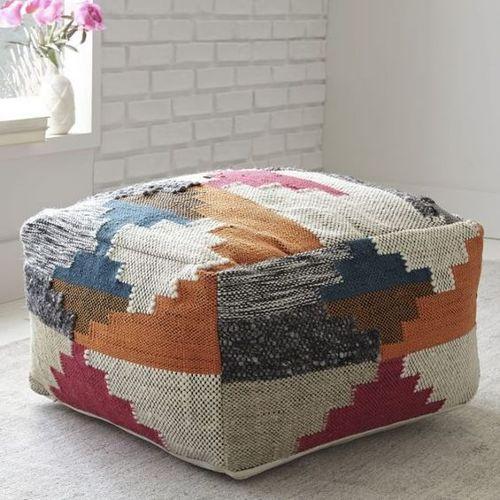 Pouf Designer Handmade