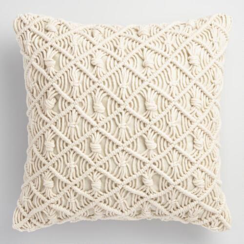 Macrame Cushion Cover