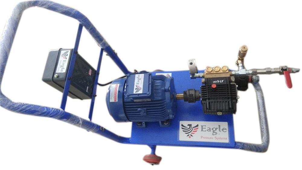 High Pressure hydro test pump system 15 LPM , 250 bar
