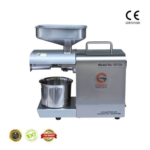 Gorek Seeds Squeezing Machine