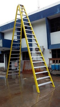 Double sided Step FRP Ladder