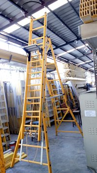 Self Supported Extension FRP Ladder