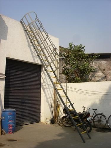 Cage FRP Ladder