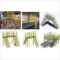 FRP INDUSTRIAL CROSSOVER PLATFORM / BRIDGE LADDER