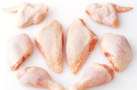 Halal Frozen Chicken Mid Joint Wings