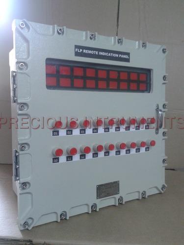 Flameproof 18 window microprocessor