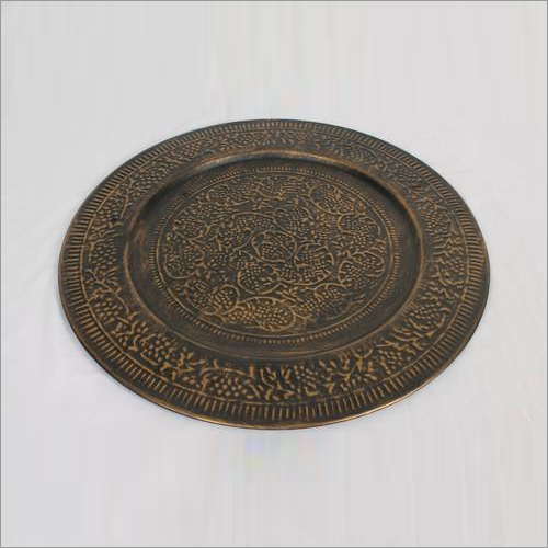 Antique Brass Plate