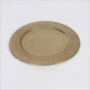 Crafted Brass Plate
