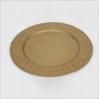 Decorative Brass Plate