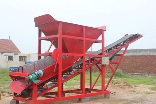 Screening and Shearing Machine