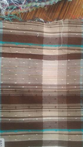 Cotton Dobby Print Shirting Fabric