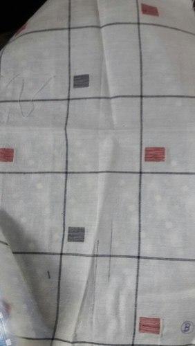 Cotton Dobby Grey Fabric