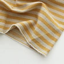 Stripes Cotton Linen Fabric