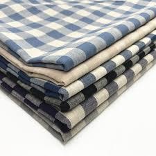 Pure Cotton Linen Fabric