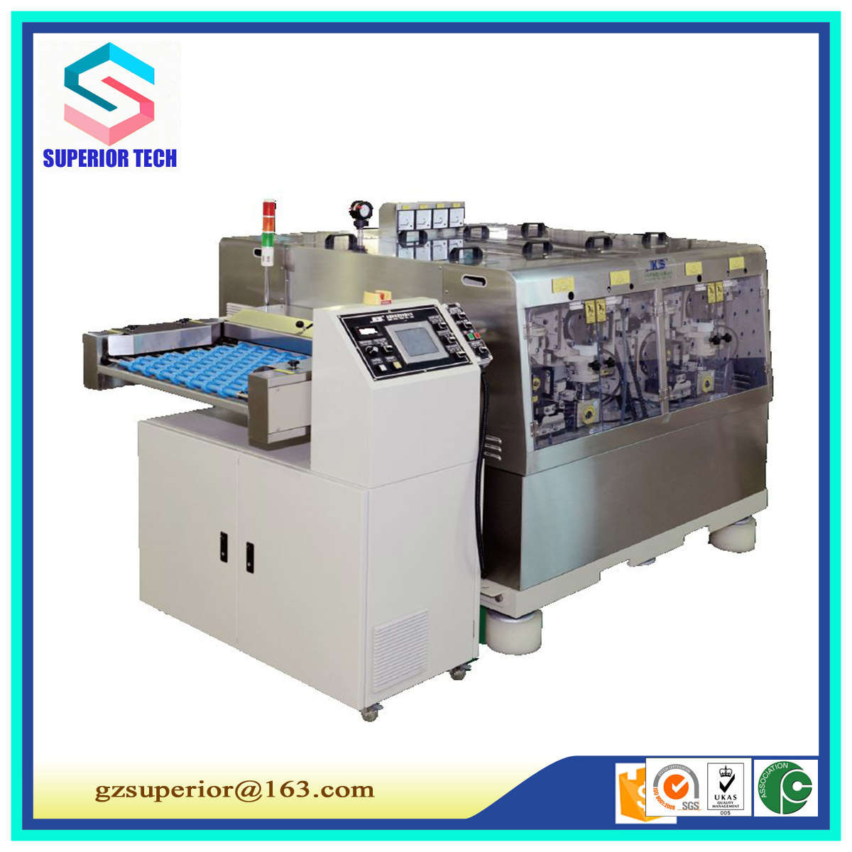 Industrial PCB Heavy Brushing Machine