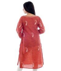 Baby Silk Lucknow Chikan Kurti