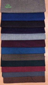 Multicolour Cotton Woven Plain Fabric