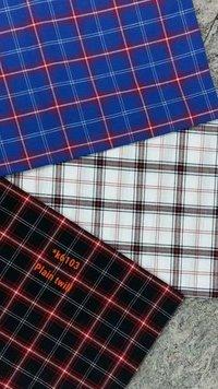 Check Cotton Woven Fabric
