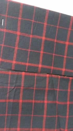 Black Cotton Woven Plain Fabric