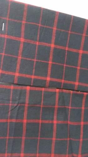 Black Cotton Woven Plain Fabric