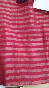 Stripes Cotton Woven Plain Fabric