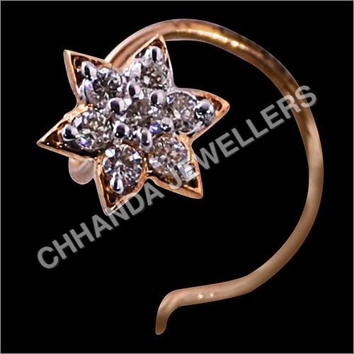 Durable Diamond Nose Pin