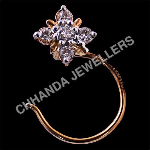 Designer Diamond Nose Pin