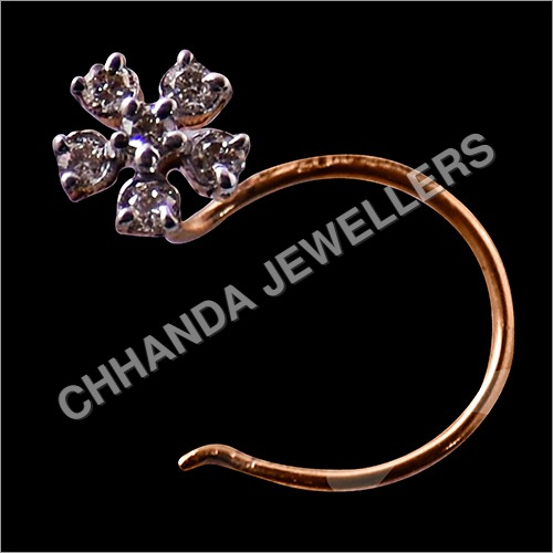 Diamond Sixdana Nose Pin