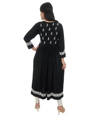 Lucknow Chikan Embroidered Gown