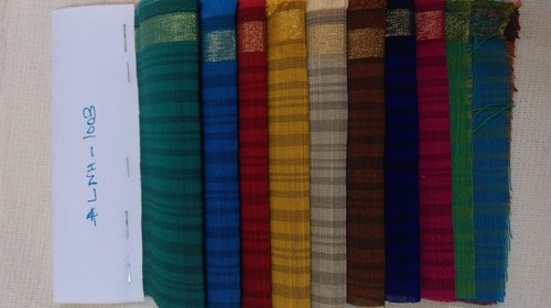 100% Poly Chanderi Fabric