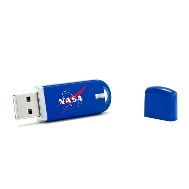 Multi color plastic USB